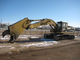 95 Caterpillar Excavator 325l W/labounty Msd70 Shear photo