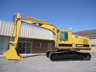 1991 Caterpillar 225dlc Cat 225 D Lc Trackhoe Excavator,  Runs Great photo
