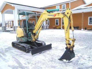 Yanmar Vio35 Excavator photo
