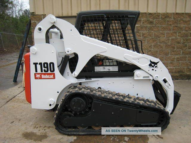 2007 bobcat t190 2316 hours new paint new tracks open. Black Bedroom Furniture Sets. Home Design Ideas