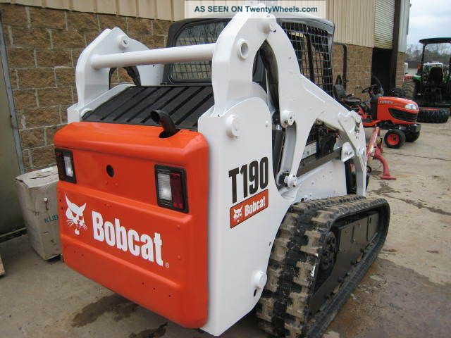 Bobcat Skid Steer Paint : Bobcat t hours new paint tracks open