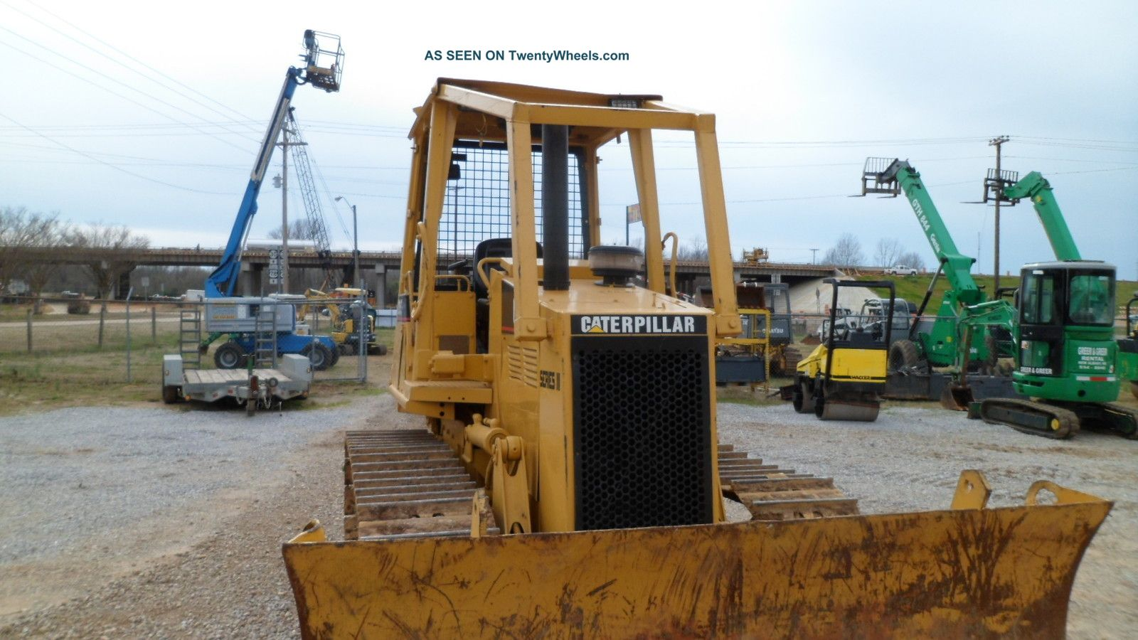 Caterpillar D5c Series 3 Dozer Bulldozer