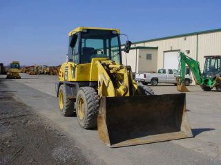 2005 Komatsu Wa75 Wheel Loader With Cab,  Quick Tach Gp Bucket photo