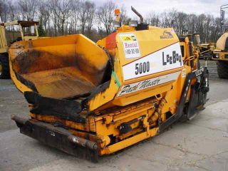 2008 Leeboy 5000 Path Master Asphalt Paver Only 440 Hrs,  Very Clean & Origional photo