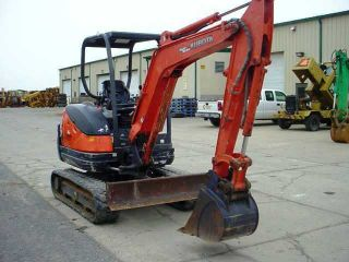 Clean 2008 Kubota Kx71 - 3 Hydraulic Excavator,  Low Hours,  Origional photo