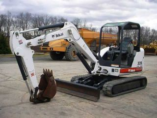 Clean 2008 Bobcat 335 Hydraulic Excavator,  Low Hours,  Origional photo