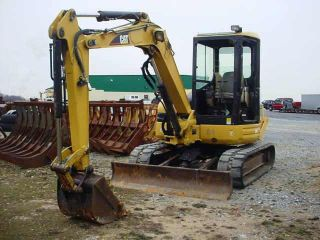 Caterpillar 304cr Hydraulic Excavator,  2005,  Has 3rd Valve photo