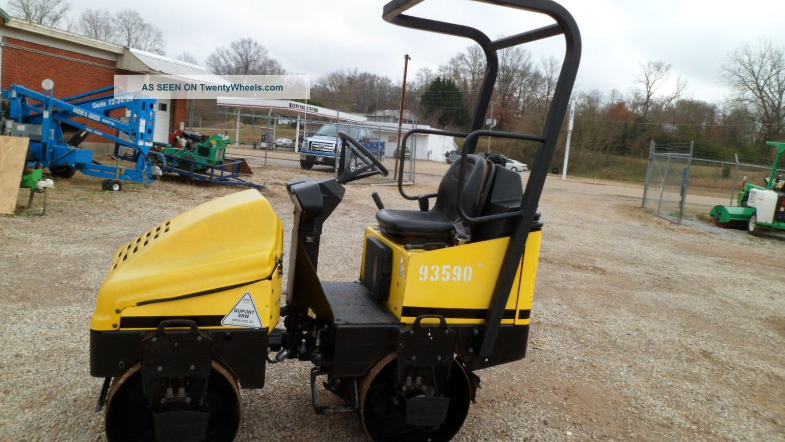 2006 Wacker Rd11a Vibratory Compactor Compactors & Rollers - Riding photo
