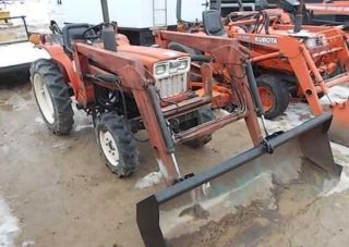 Yanmar 220d 4 X 4 With Loader photo