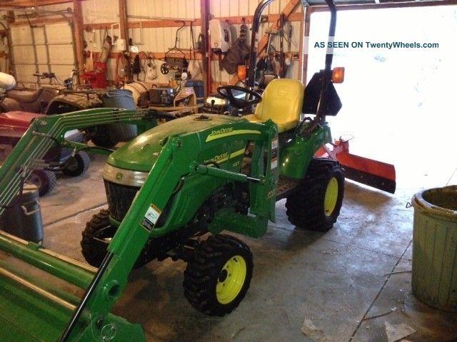 John Deere Compact Utility Tractor Model Lgw