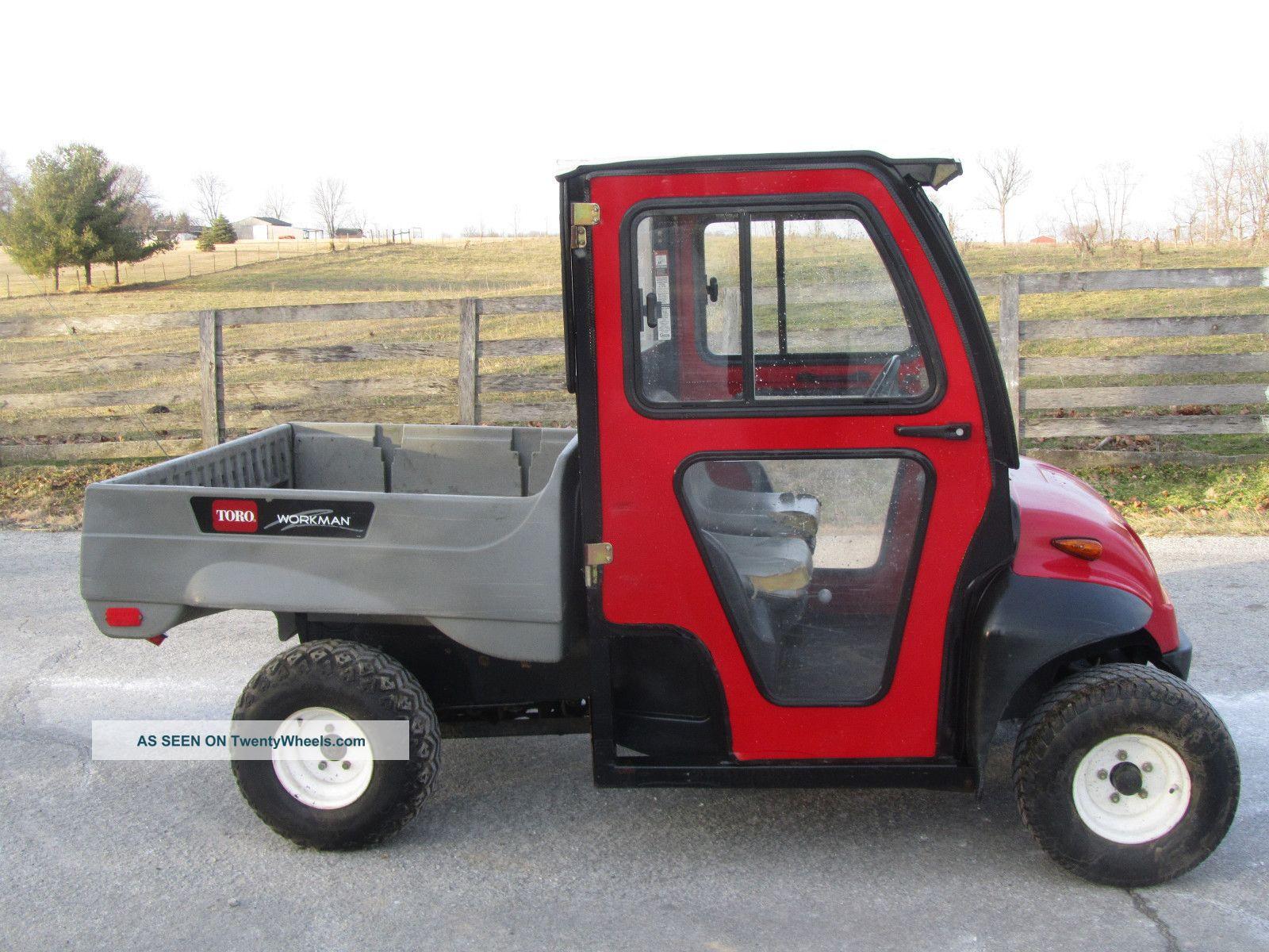 Toro Workman 1100 With Cab Utility Vehicles photo