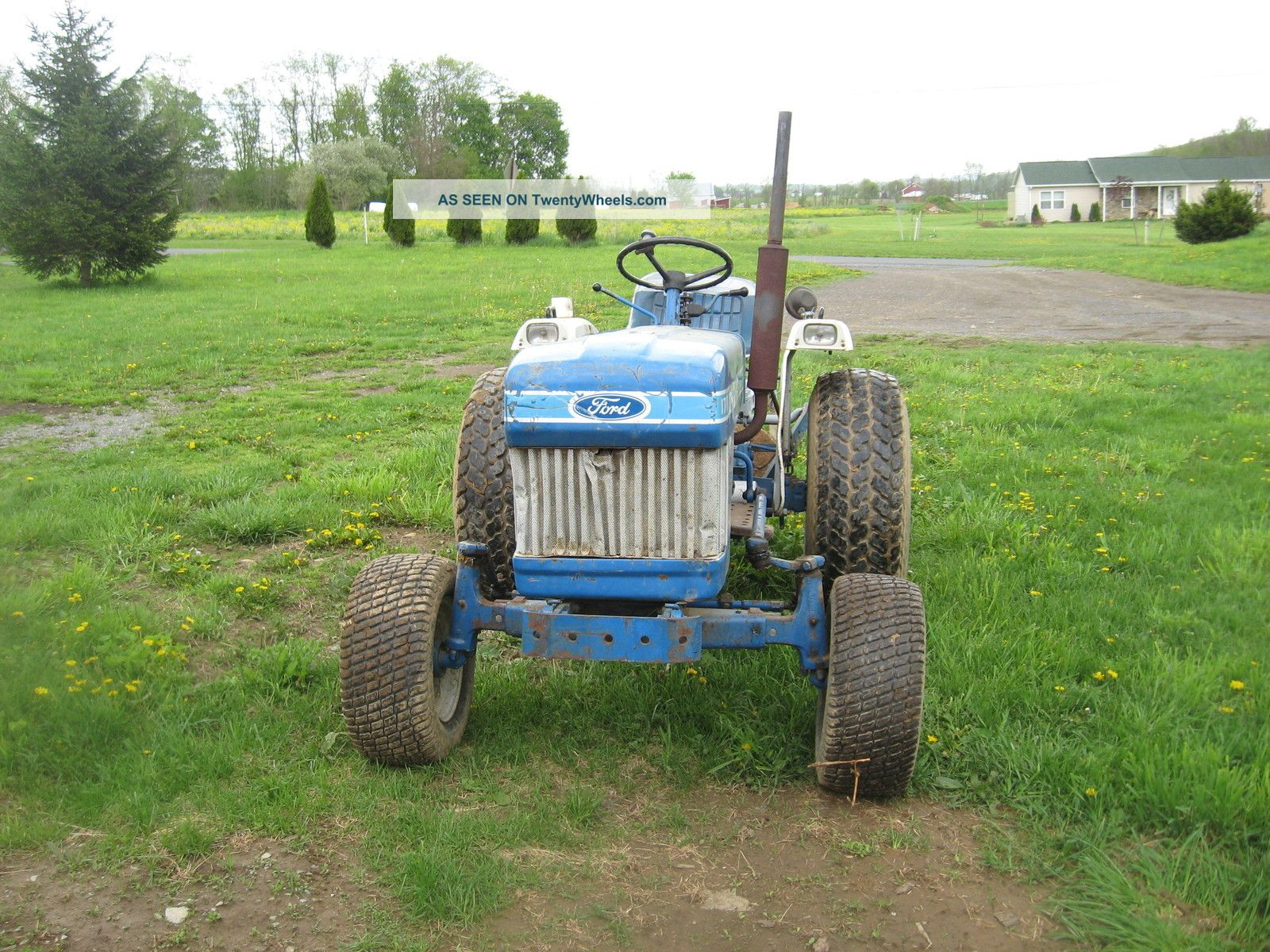 Ford 1710 Tractor Wheel Rims : Ford engine specs free image for user