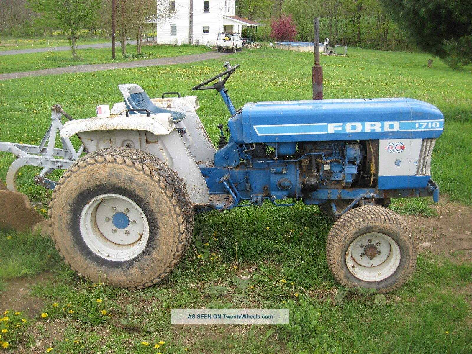 Ford 1710 Tractor Parts Breakdown : Ford engine specs free image for user