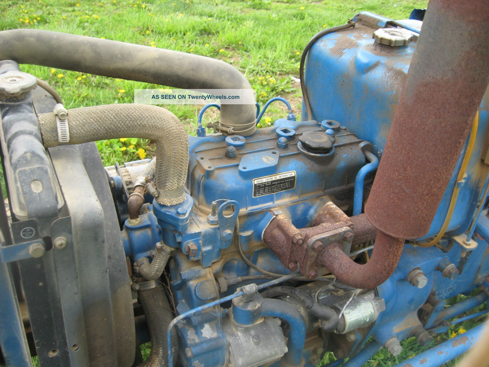 Ford 1710 Engine : Ford tractor engine