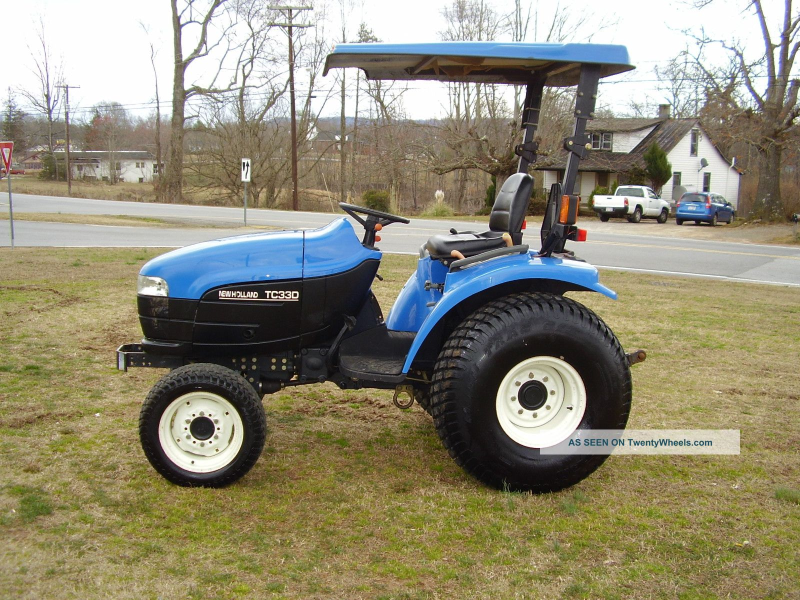 holland tc   diesel tractor