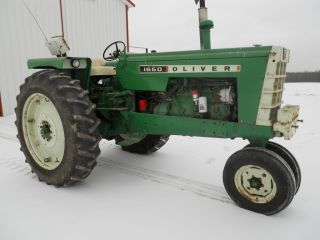 Oliver 1650 Tractor photo