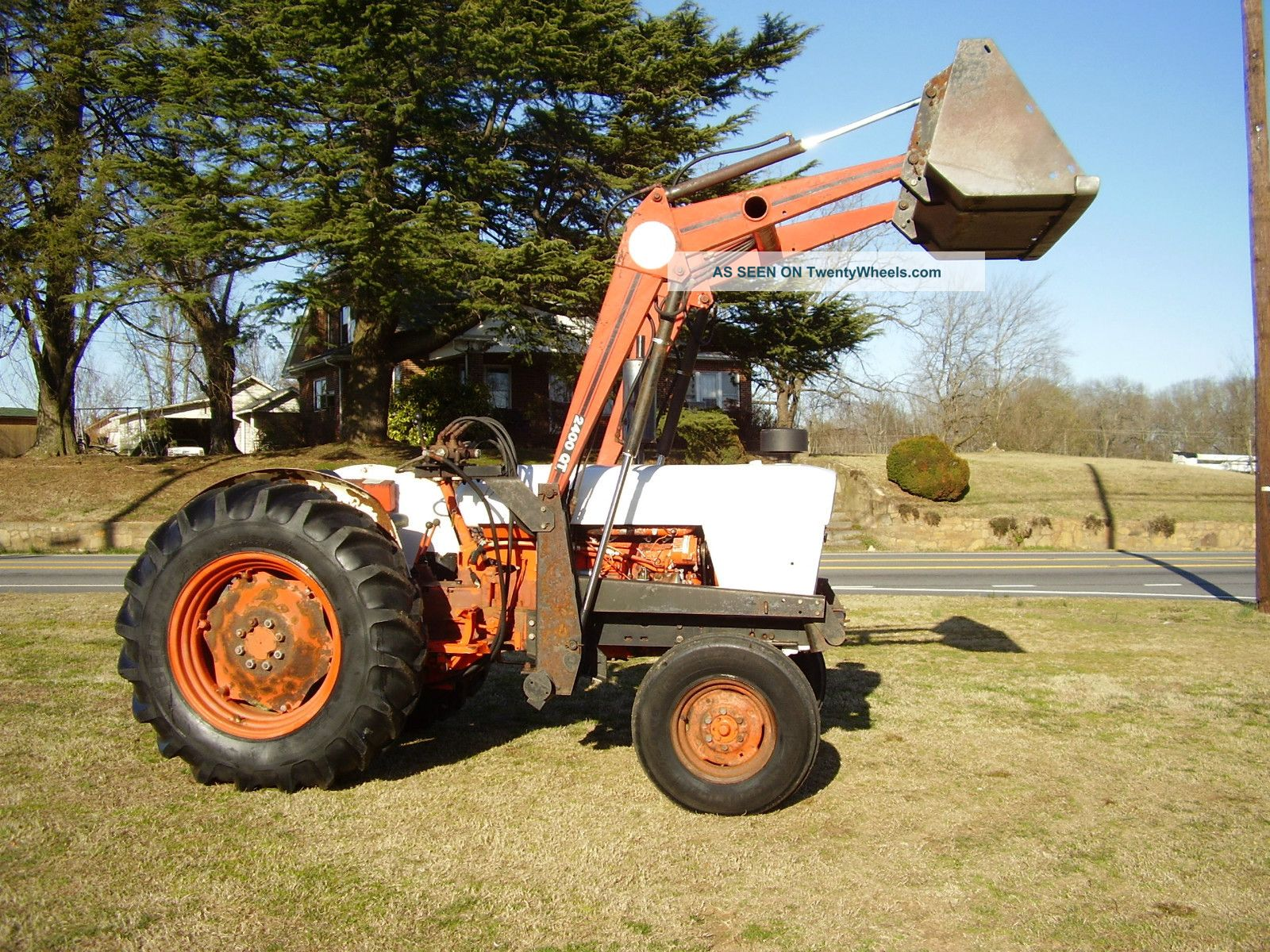 Case 990 Farm Tractors Parts : Case david brown diesel wd loader tractor