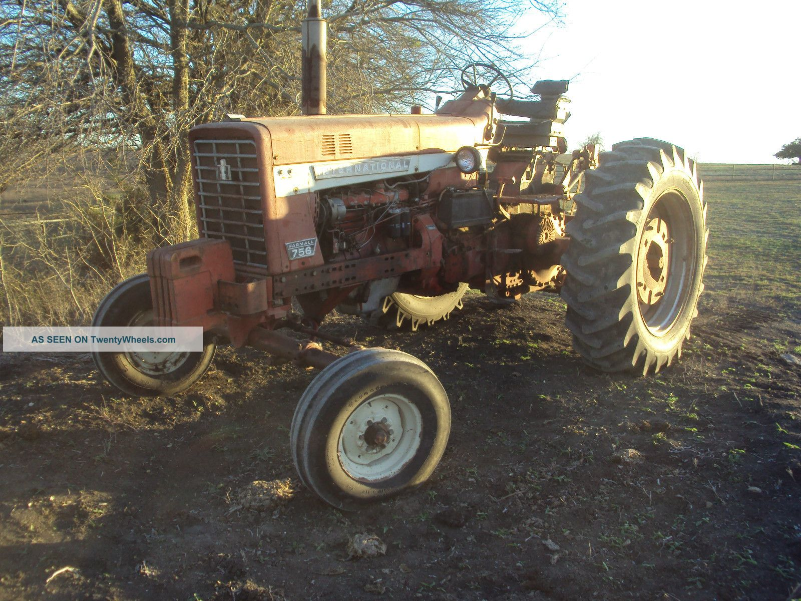 Case International Harvester Tractor : International harvester farmall tractor diesel case ih