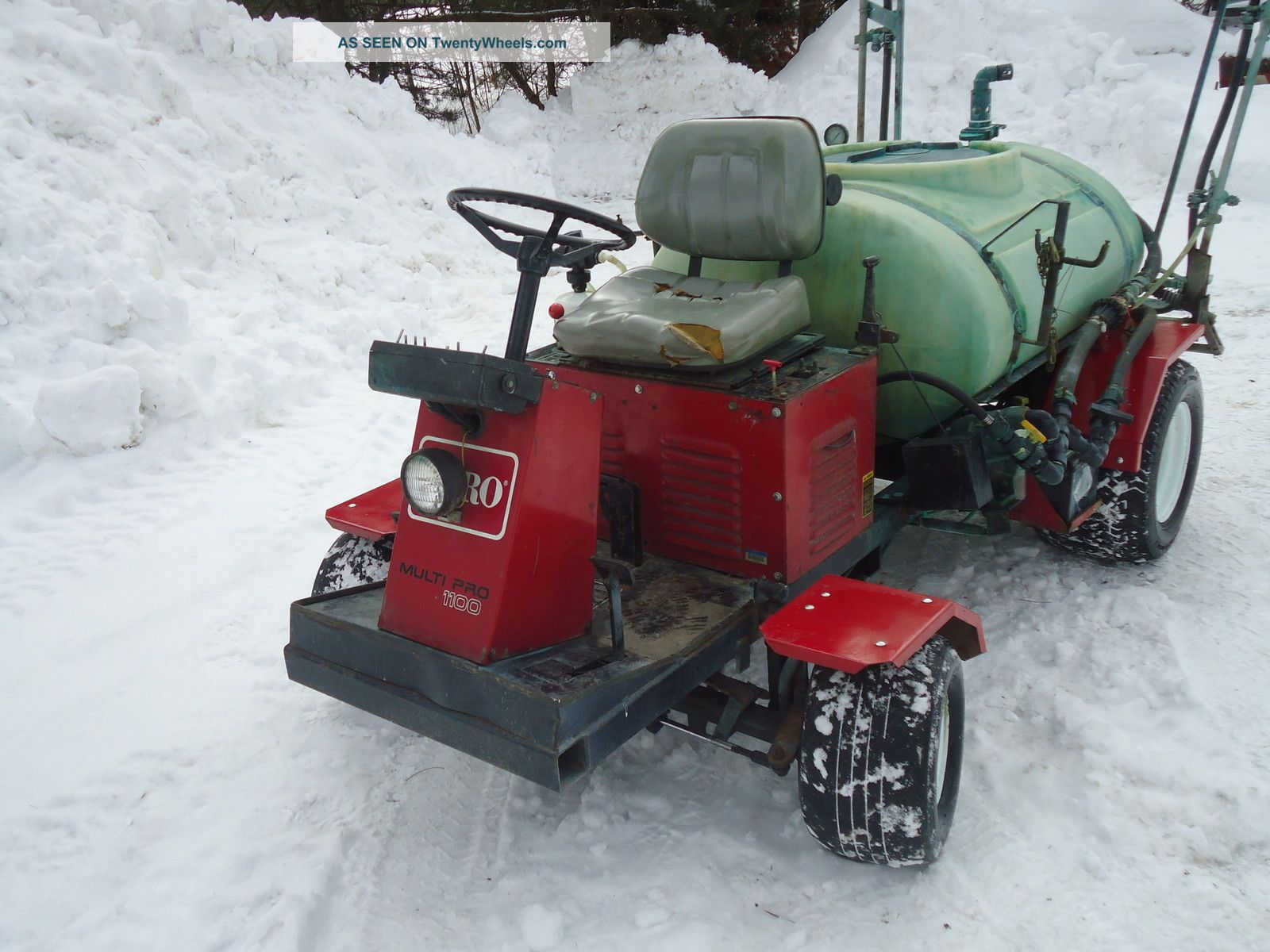 Toro Multi Pro 1100 Sprayer Utility Vehicles photo