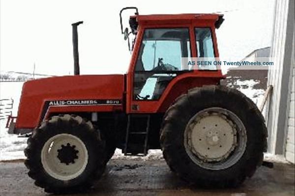 1984 Allis - Chalmers 8070 - Tractor Tractors photo