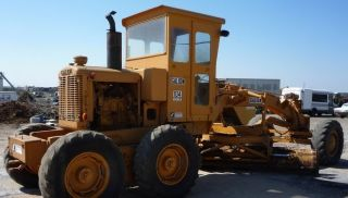 Galion 104 B Motor Grader Equipped With 3 - 71 Detroit Diesel Engine,  Elctrc Start photo