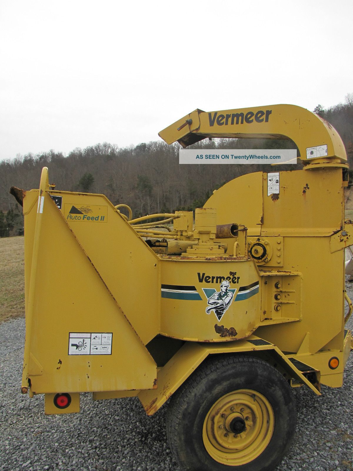 Vermeer 1250 Chipper Owners Manual on