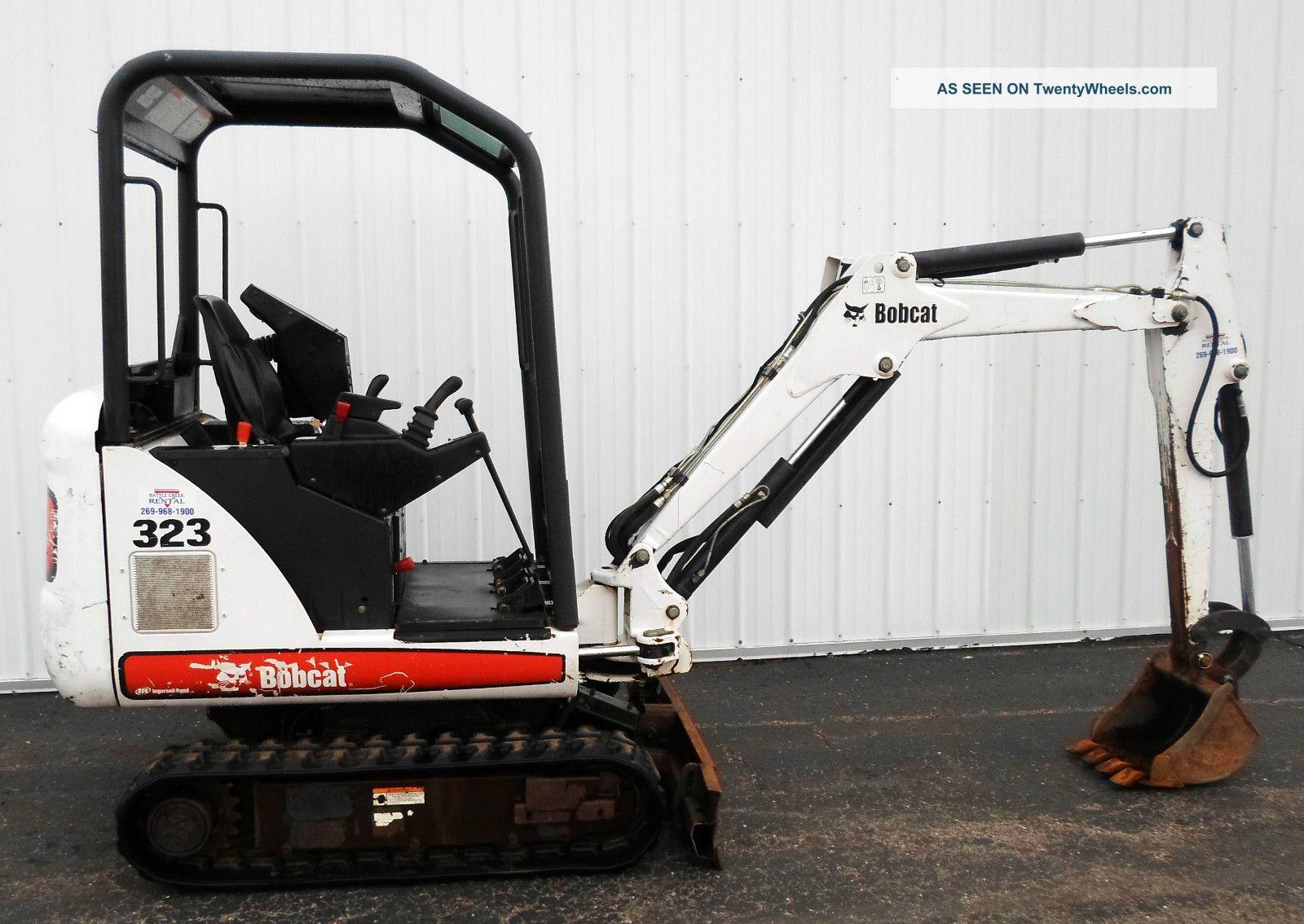 2006 Bobcat Model - 323 Mini Excavator