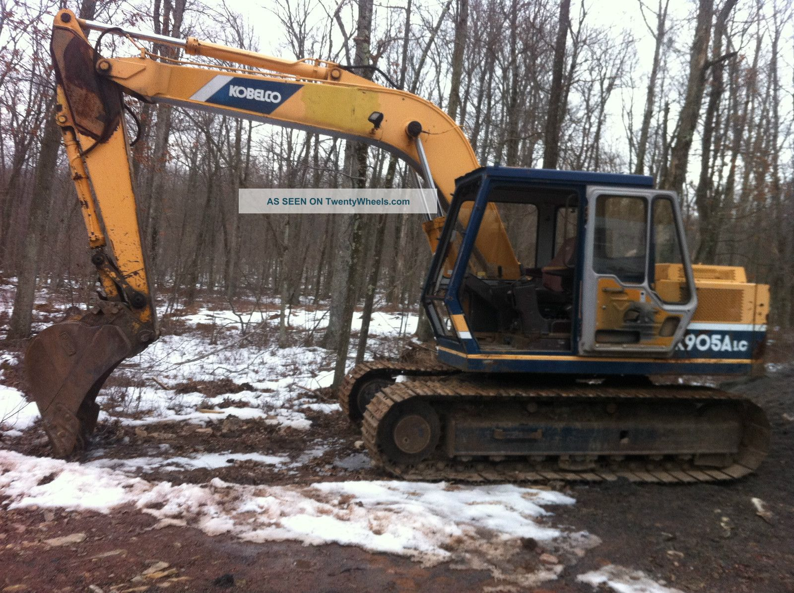 Kobelco K 905a Lc Excavator Shovel Diesel Backhoe