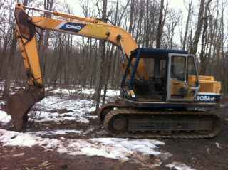 Kobelco K 905a Lc Excavator Shovel Diesel Backhoe photo