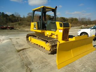 2002 Komatsu D39px21 Lgp Bulldozer With 6 Way Blade photo