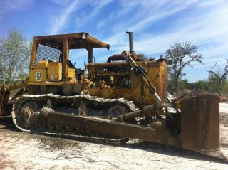 1981 Caterpillar D8k Crawer Dozer With Rippers photo