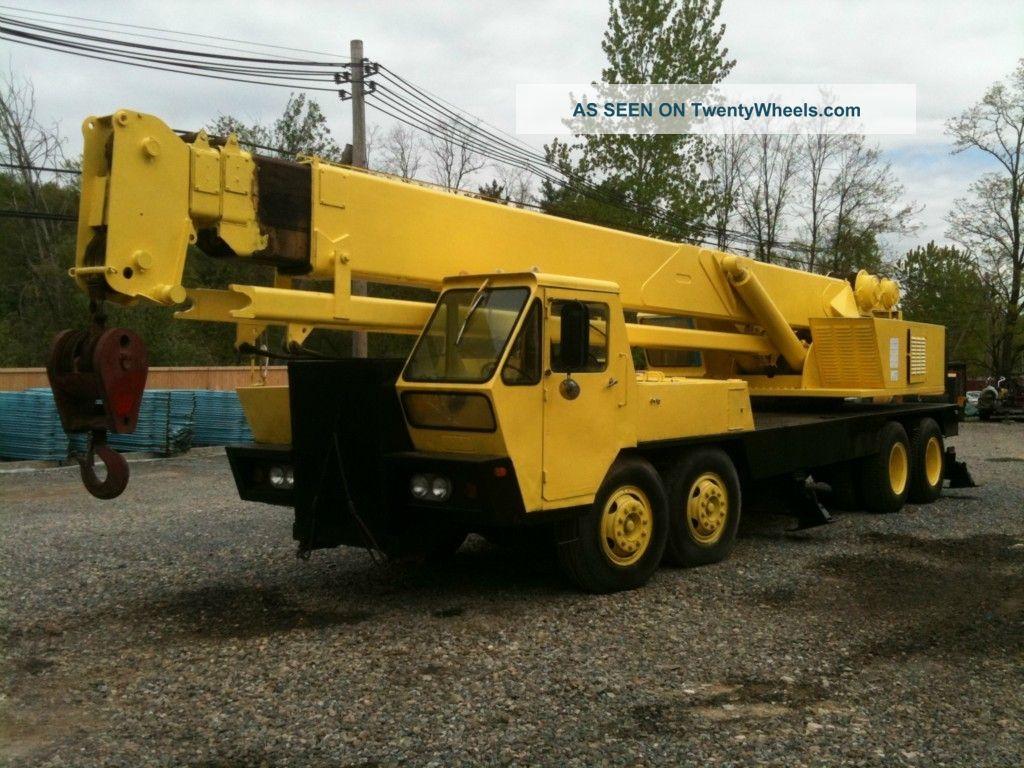 1974 P&h - 25 Ton Hydraulic Truck Crane Diesel Cranes photo