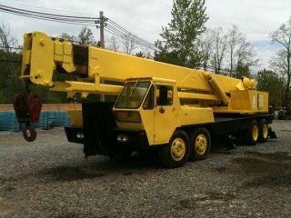 1974 P&h - 25 Ton Hydraulic Truck Crane Diesel photo
