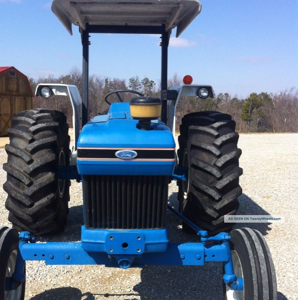 Farm Tractor Roll Bars : Ford newholland tractor series factory roll bar