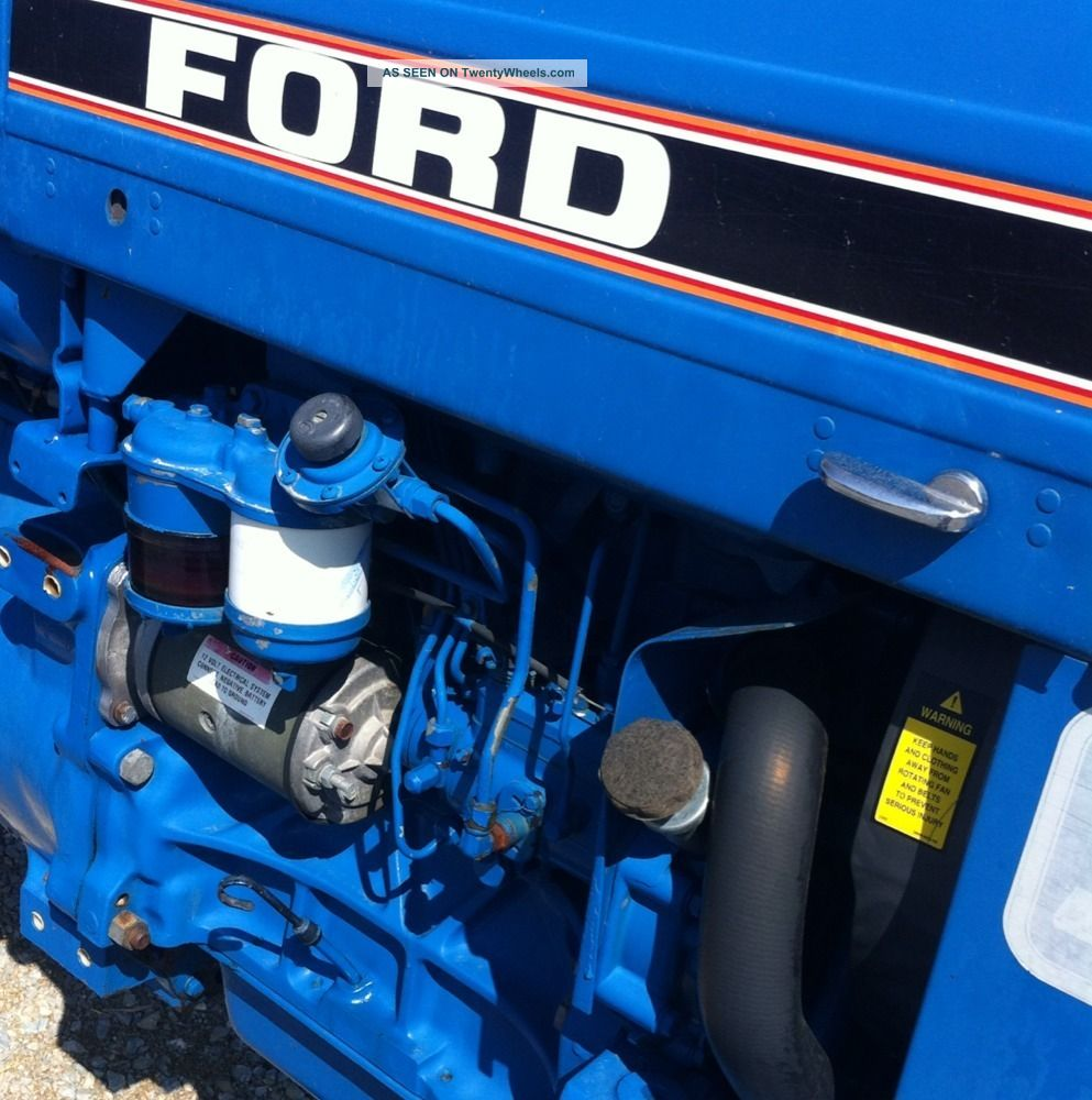 ford newholland  tractor series  factory roll bar