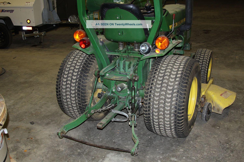 Item 7 John Deere Lawn Tractor 650 2wd 18 Hp Diesel