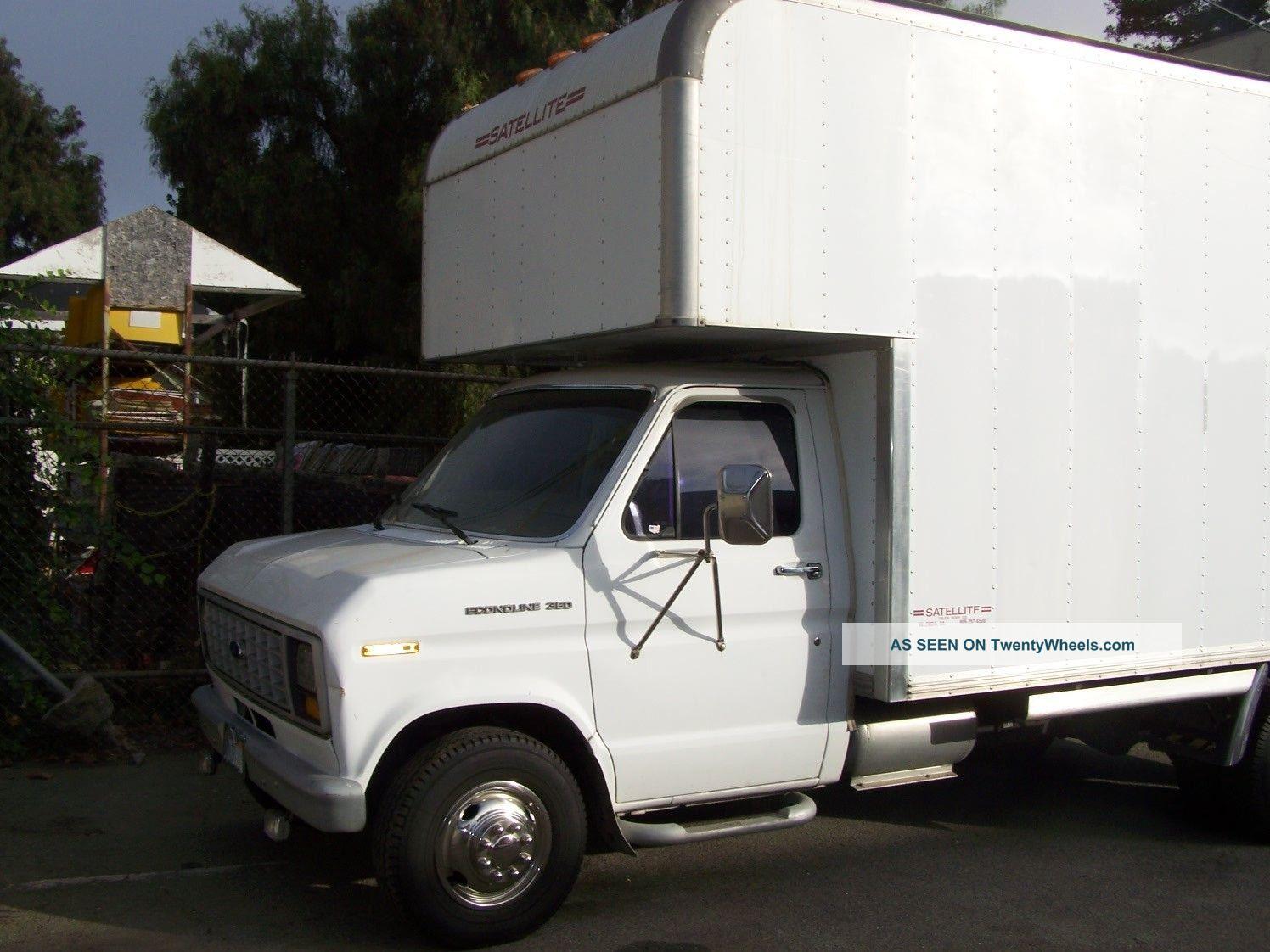 1988 ford e350 cutaway box truck. Black Bedroom Furniture Sets. Home Design Ideas