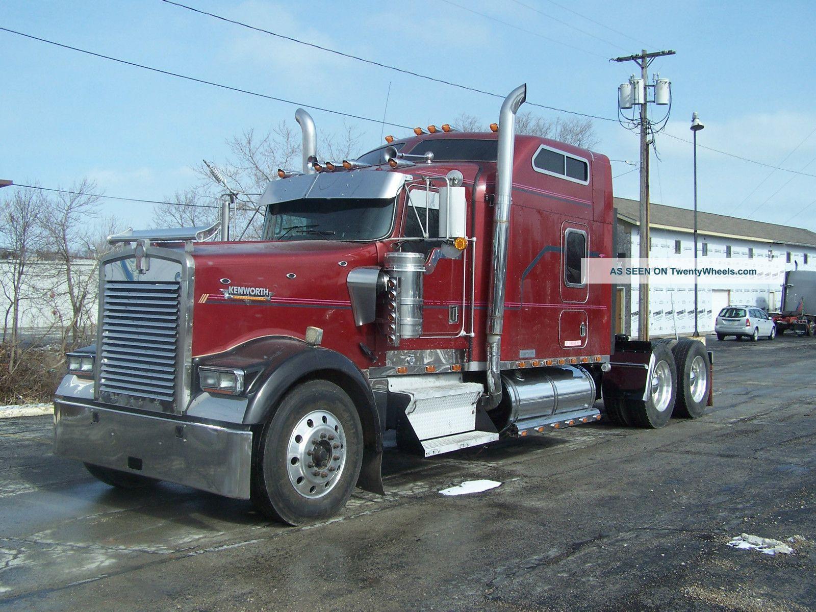 Kenworth Semi Trucks Pictures
