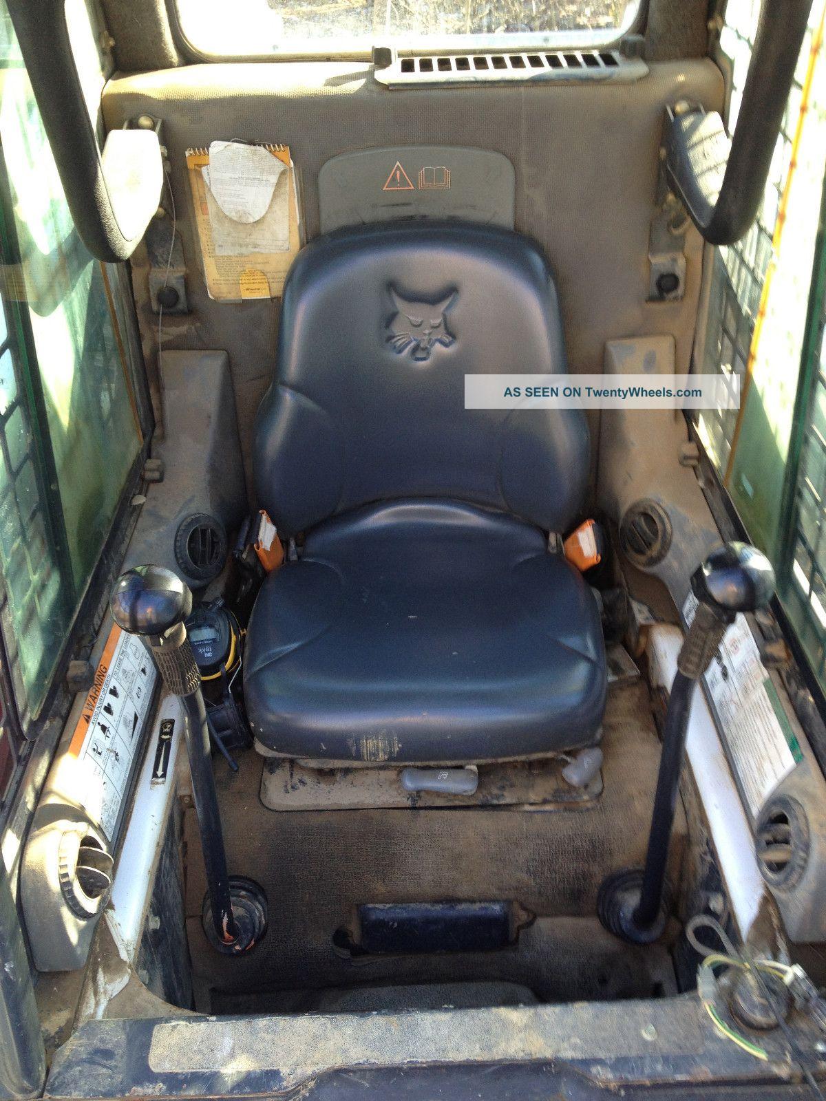 Skid Steer Controls : Bobcat s skid steer loader foot controls skidloader a c
