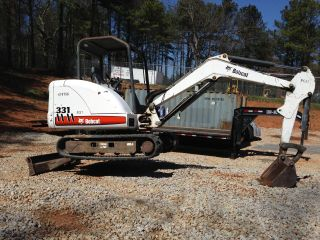 2006 Bobcat 331 G 331g Mini Excavator Digger 10 ' Dig Depth 2019 Hrs photo