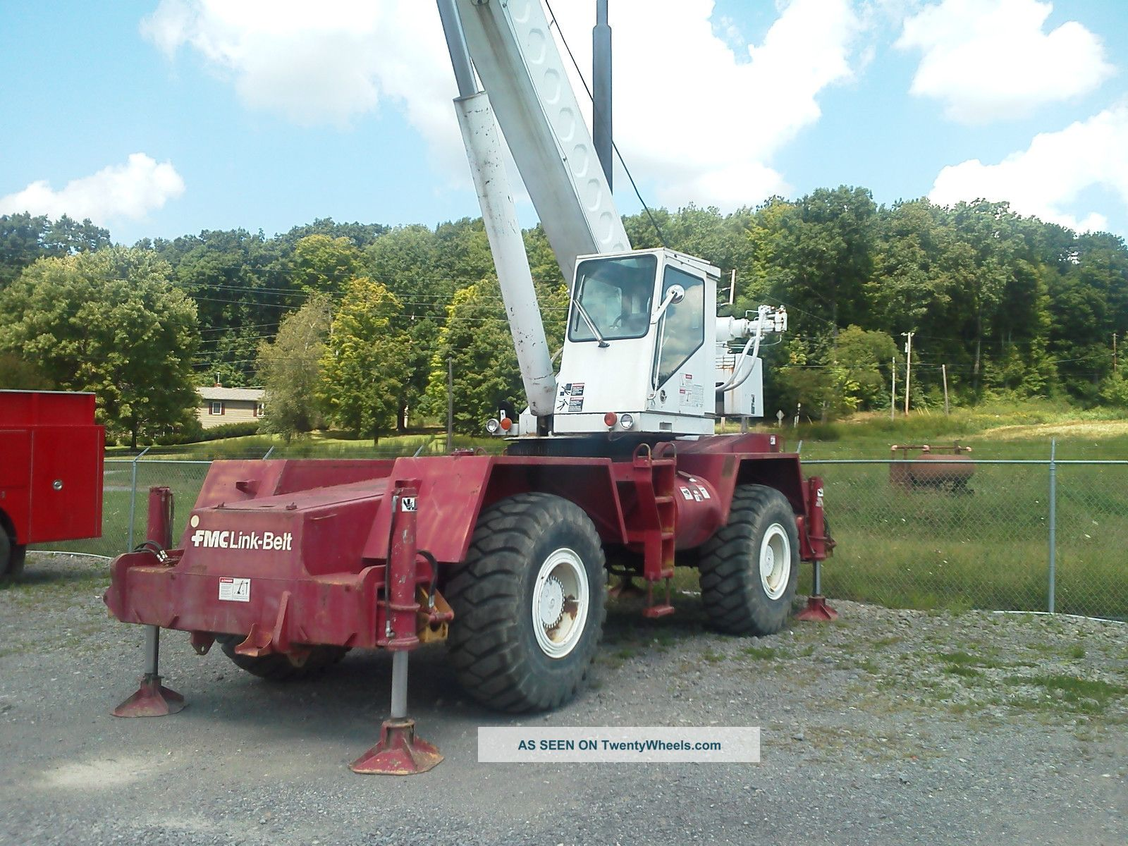 Link Belt Hsp 8030 Rough Terrain Crane 80 ' Main Boom,  No Jib. Cranes photo