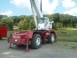 Link Belt Hsp 8030 Rough Terrain Crane 80 ' Main Boom,  No Jib. photo