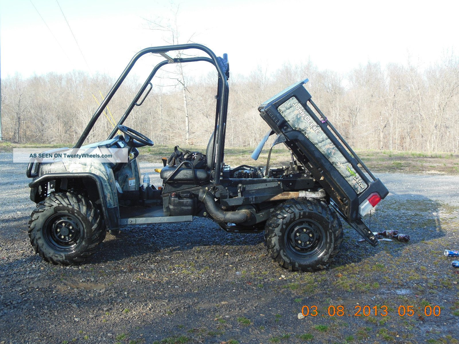 John Deer Gator 825i 4x4 Utility Vehicles photo