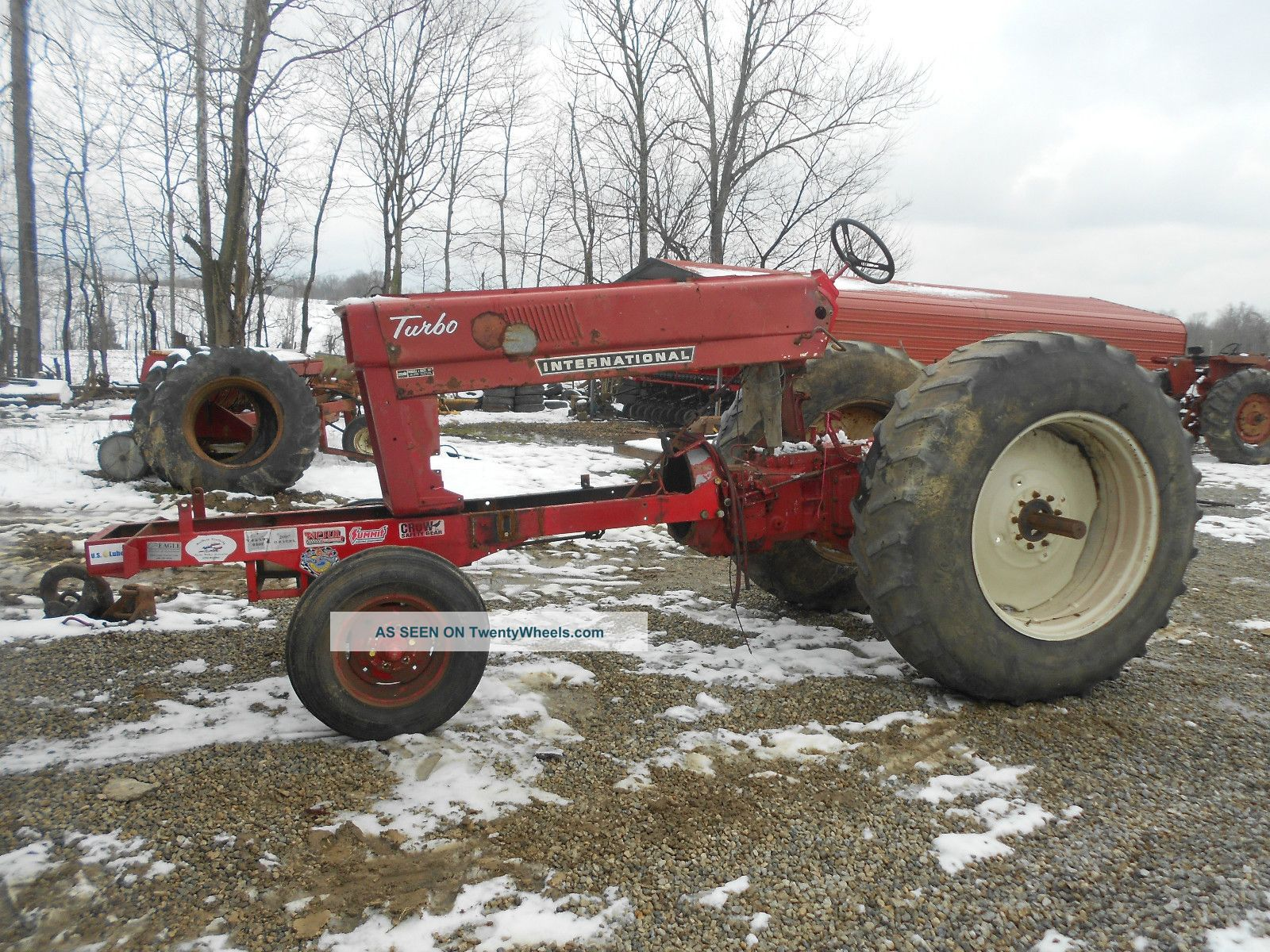 International, Pulling Chassie, Farmall, Pulling Tractor