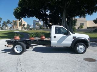 2009 Ford F450 Cab & Chassis Dually Diesel Florida photo