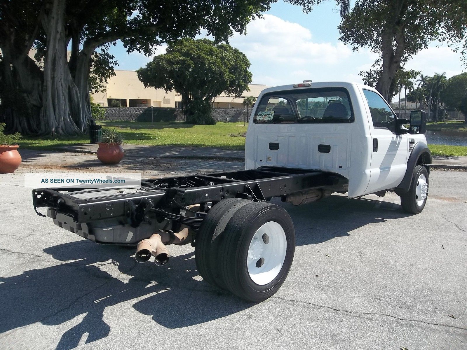 2009 Ford F450 Cab Amp Chassis Dually Diesel Florida Other Medium Duty