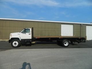 1994 Gmc Topkick Flatbed Stakebed Liftgate photo