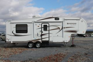 2011 Forest River Rockwood 8265 Ws 29 Foot 5th Wheel Camper photo
