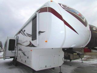 2012 Forest River 3550rl Cardinal photo