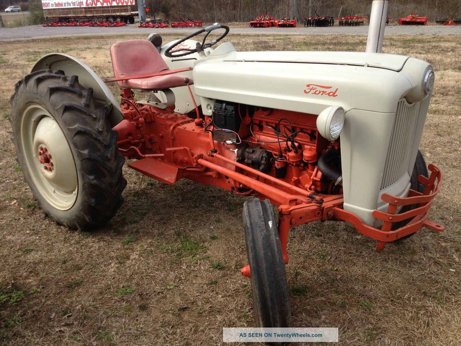 Ford Naa Tractor Parts : Farm ford naa tractor